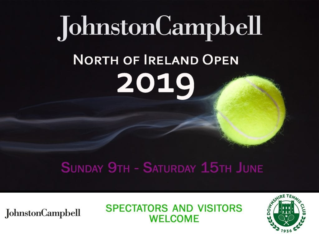Johnston Campbell North of Ireland Tennis Open