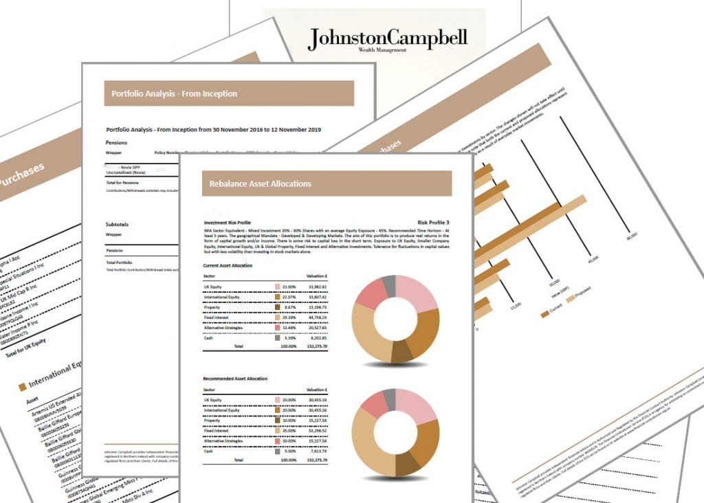 Changes to reviews at Johnston Campbell